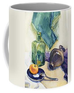 Still Life With Green Bottle Coffee Mug