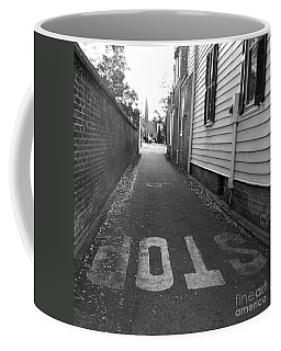 Coffee Mug featuring the photograph Stop by Andrea Anderegg