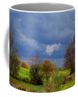 Coffee Mug featuring the photograph Storm Cell by Kathryn Meyer