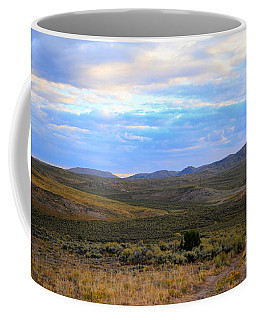 Stormy Wyoming Sunrise I Coffee Mug