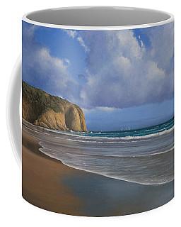 Strands Beach Dana Point Painting Coffee Mug