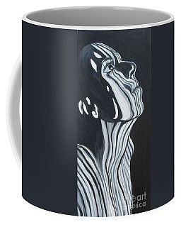 Coffee Mug featuring the painting Stripes by Julie Brugh Riffey