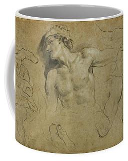 Studies Of Hands - Shoulders And A Leg Coffee Mug
