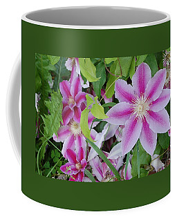 Summer Clematis Coffee Mug
