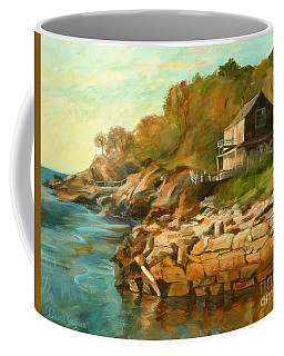 Summer Cottage Coffee Mug