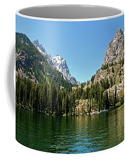 Summer Day At Jenny Lake Coffee Mug