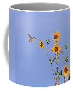 Summer Day Hummingbird Coffee Mug