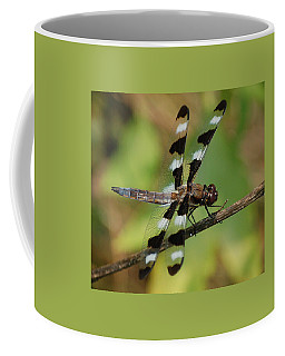 Summer Dragonfly Coffee Mug