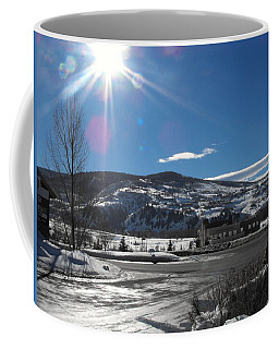 Sun On Ice Coffee Mug