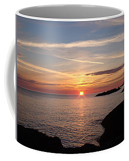 Coffee Mug featuring the photograph Sun Up On The Up by Bonfire Photography