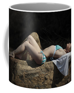Sunbathing Coffee Mug