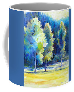 Sunlit Trees Coffee Mug