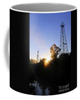 Sunrise On The Sabine Coffee Mug