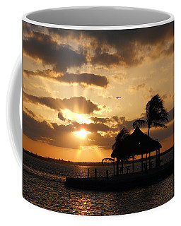 Coffee Mug featuring the photograph Sunrise Over Bay by Clara Sue Beym