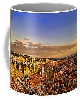 Sunrise Over The Hoodoos Coffee Mug by Anne Rodkin