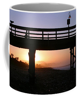 Sunrise Pier Ventura Coffee Mug