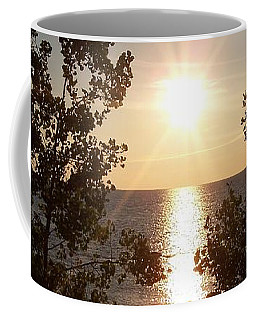 Sunset At The Point Coffee Mug