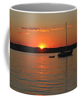 Coffee Mug featuring the photograph Sunset Cove by Clara Sue Beym