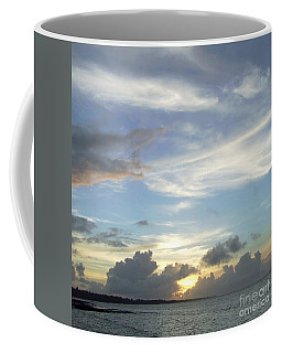 Coffee Mug featuring the photograph Sunset In Majuro by Andrea Anderegg