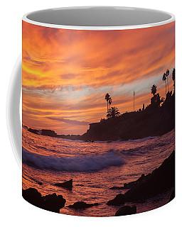 Sunset Off Laguna Beach Coffee Mug