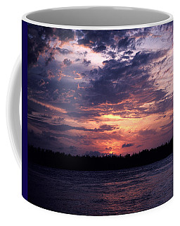 Coffee Mug featuring the photograph Sunset Off Mallory Square 14s by Gerry Gantt