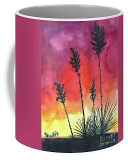 Sunset Silhouette Coffee Mug