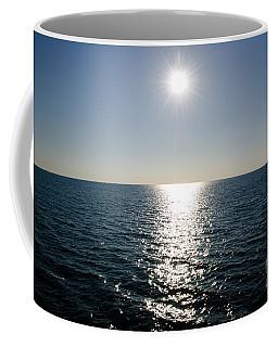 Sunshine Over The Mediterranean Sea Coffee Mug