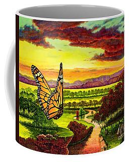 Sunshine Traveler-monarch Coffee Mug
