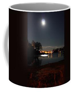 Super Moon Night   2 Coffee Mug