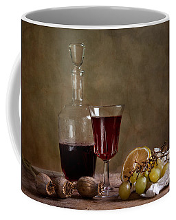 Supper With Wine Coffee Mug