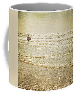 Surf The Sea And Sparkle Coffee Mug by Lyn Randle