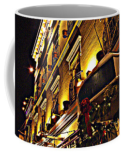 Coffee Mug featuring the photograph Swans Hotel by Marilyn Wilson