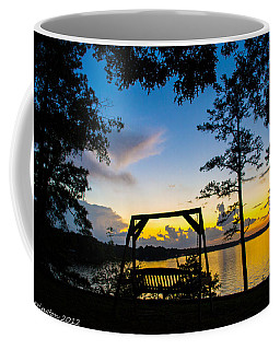 Swing Silhouette  Coffee Mug