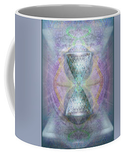 Synthesphered Grail On Caducus Blazed Tapestrys Coffee Mug