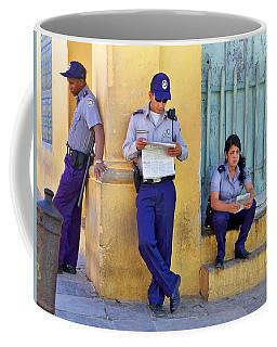 Coffee Mug featuring the photograph Taking A Break by Lynn Bolt