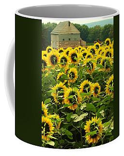 Tall Sunflowers Coffee Mug
