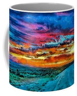 Taos Sunset Iv Wc Coffee Mug