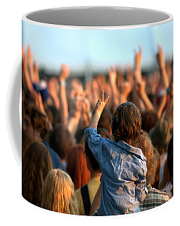 Coffee Mug featuring the photograph Teach Your Children by Jeff Ross