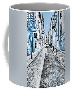 Telegraph Hill Blue Coffee Mug