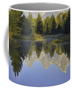Teton Morning Reflections Coffee Mug