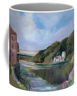 Thames River England By Mary Krupa Coffee Mug