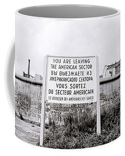 Berlin Wall American Sector Coffee Mug