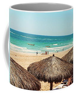 Coffee Mug featuring the photograph The Beach At Puerto Pensasco by Rand Swift
