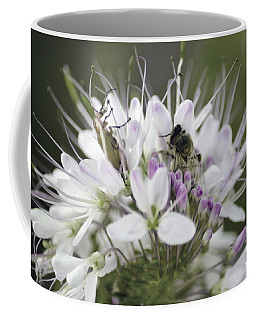 The Beetle And The Bee Coffee Mug