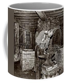 The Blacksmith 2 Sepia Coffee Mug