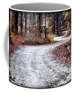 Coffee Mug featuring the photograph The Broken Road by Lynne Jenkins