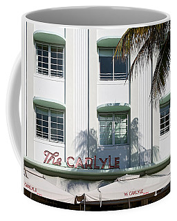 The Carlyle Hotel 2. Miami. Fl. Usa Coffee Mug