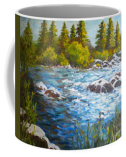 The Color Of Water Coffee Mug
