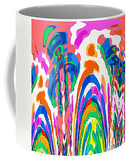 The Colors Fountain Coffee Mug