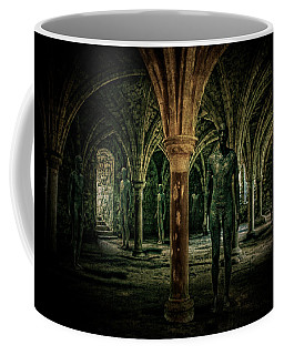 Coffee Mug featuring the photograph The Crypt by Chris Lord